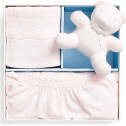 Ralph Lauren Bear 3-Piece Gift Box Set in Delicate Pink - Size 3M found on Bargain Bro from Ralph Lauren for USD $49.40