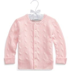 Ralph Lauren Cable-Knit Cashmere Cardigan in Morning Pink - Size 18M found on Bargain Bro Philippines from Ralph Lauren for $195.00