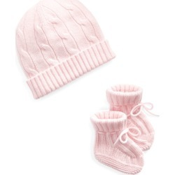 Ralph Lauren Cashmere Hat & Booties Set in Morning Pink - Size 0-3M found on Bargain Bro Philippines from Ralph Lauren for $95.00
