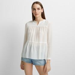 Club Monaco Blanc De Blanc Tangaleena Shirt in Size XS