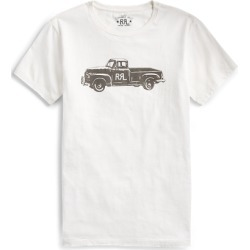 Ralph Lauren Truck-Graphic T-Shirt in Paper White - Size M found on Bargain Bro from Ralph Lauren for USD $57.00