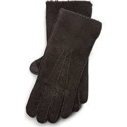 Ralph Lauren Shearling Gloves in Black - Size M found on Bargain Bro from Ralph Lauren for USD $171.00