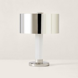 Ralph Lauren Barton Desk Lamp in Polished Nickel - Size One Size found on Bargain Bro Philippines from Ralph Lauren for $1999.00