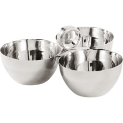 Ralph Lauren Triple Montgomery Nut Bowl in Silver - Size One Size found on Bargain Bro from Ralph Lauren for USD $148.20
