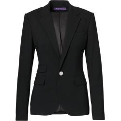 Ralph Lauren Parker Stretch Wool Jacket in Black - Size 8