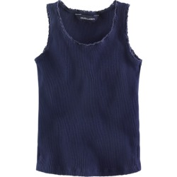 Ralph Lauren Lace-Trim Ribbed Tank in Newport Navy - Size 3T found on Bargain Bro Philippines from Ralph Lauren for $19.50