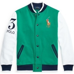 Ralph Lauren Twill Terry Baseball Jacket in Billiard - Size L found on Bargain Bro India from Ralph Lauren for $125.00