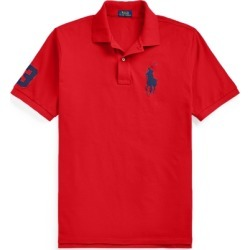 Ralph Lauren Big Pony Mesh Polo Shirt in RL 2000 Red - Size 6X Big found on Bargain Bro India from Ralph Lauren for $110.00