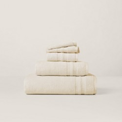Ralph Lauren Payton Towels & Mat in True Parchment - Size Hand Towel found on Bargain Bro from Ralph Lauren for USD $12.91