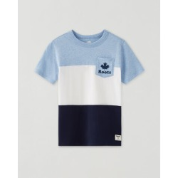 Boys Colour Block T-shirt found on Bargain Bro from Roots Canada for USD $17.08
