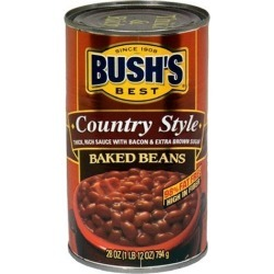 Bush's Country Style Baked Beans 28 Oz. 1974