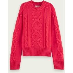 Scotch & Soda Crewneck cable knit pullover found on Bargain Bro UK from Scotch & Soda (UK)