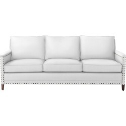 Spruce Street 3-Seat Sofa with Nailheads