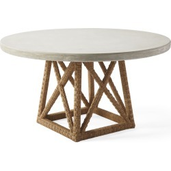 Thornhill Round Dining Table found on Bargain Bro India from Serena and Lily for $2498.00
