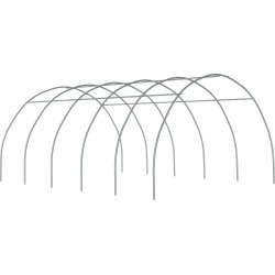 ShelterTech Round High Tunnel Greenhouse, 20 ft. x 4 ft. x 10 ft. 7 in. FRAME ONLY found on Bargain Bro from ShelterLogic for USD $186.84