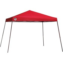 Shade Tech ST81 Slant Leg Pop-Up Canopy, 12 ft. x 12 ft. Red