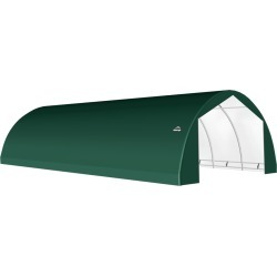 ShelterTech SP Series Round Shelter, 22 ft. x 45 ft. x 11 ft. Ultra Duty PVC 21.5 oz. Green found on Bargain Bro from ShelterLogic for USD $5,447.19