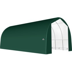 ShelterTech SP Series Round Shelter, 22 ft. x 45 ft. x 17 ft. Heavy Duty PVC 14.5 oz. Green found on Bargain Bro Philippines from ShelterLogic for $8708.91