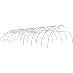 ShelterTech Gothic High Tunnel Greenhouse, 26 ft. x 44 ft. x 12 ft. FRAME ONLY found on Bargain Bro from ShelterLogic for USD $1,436.64