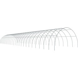 ShelterTech Round High Tunnel Greenhouse, 26 ft. x 88 ft. x 13 ft. FRAME ONLY found on Bargain Bro from ShelterLogic for USD $2,901.88