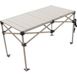 RIO Gear Aluminum Camp Table, 25 in. x 48 in.
