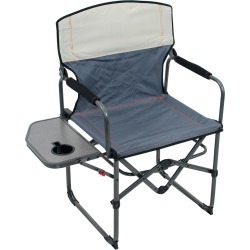 RIO Gear Broadback Oversized Camping Folding Chair, Slate/Putty found on Bargain Bro Philippines from ShelterLogic for $59.99