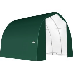 ShelterTech SP Series Round Shelter, 24 ft. x 30 ft. x 18 ft. Ultra Duty PVC 21.5 oz. Green found on Bargain Bro Philippines from ShelterLogic for $7865.35
