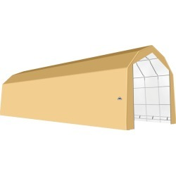ShelterTech SP Series Barn Shelter, 20 ft. x 64 ft. x 18 ft. Heavy Duty PVC 14.5 oz. Tan found on Bargain Bro from ShelterLogic for USD $9,563.88