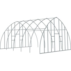 ShelterTech Gothic High Tunnel Greenhouse, 20 ft. x 12 ft. x 12 ft. FRAME AND END PANEL FRAME found on Bargain Bro Philippines from ShelterLogic for $1737.29