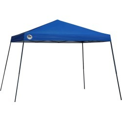 Shade Tech ST81 Slant Leg Pop-Up Canopy, 12 ft. x 12 ft. Blue