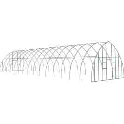 ShelterTech Gothic High Tunnel Greenhouse, 18 ft. x 44 ft. x 11 ft. 6 in. FRAME AND END PANEL FRAME found on Bargain Bro Philippines from ShelterLogic for $2637.14