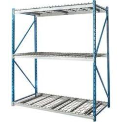 """Hallowell Bulk Rack w/ Wire Decks - 48""""w x 87""""h"""