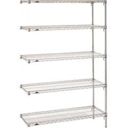 "21""d Metro Wire 5 Shelf Add On Kits"