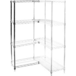 "14""d x 18""w Wire Shelving Add Ons w/ 4 Shelves"