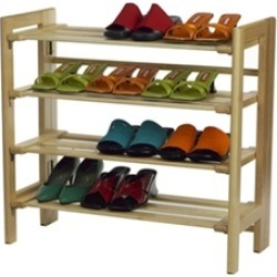 Stackable 4 Tier shoe Storage rack (81228)