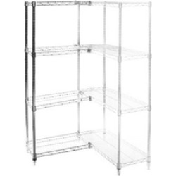 "14""d x 30""w Wire Shelving Add Ons w/ 4 Shelves"