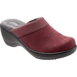 017391fe404 SoftWalk Murietta Women s Shoes Burgundy Nubuck 6.5 Narsoftwalk
