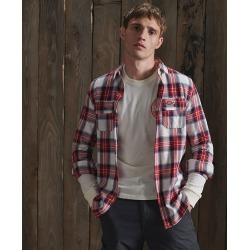 Men's Classic Lumberjack Shirt, Red, Size Small | Superdry found on Bargain Bro India from Sporting Life for $69.28
