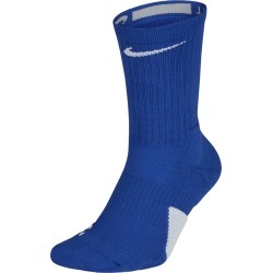 Men's Elite Crew Basketball Socks, Blue, Size Medium | Nike found on Bargain Bro Philippines from Sporting Life for $14.38