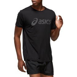 Men's Silver Logo T-Shirt, Black, Size Small | Asics found on MODAPINS from Sporting Life for USD $30.34