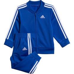 Boy's Tricot Jacket + Joggers Two-Piece Set, Royal, Size 24 mo   adidas
