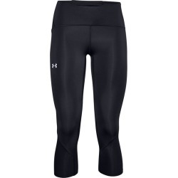 Women's Fly Fast 2.0 HeatGear Crop Tights, Black, Size Medium | Under Armour found on Bargain Bro from Sporting Life for USD $42.51