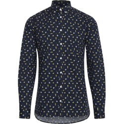 Men's Geo Print Shirt, Navy, Size XL | Casual Friday found on MODAPINS from Sporting Life for USD $68.51