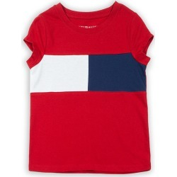 Junior's Girl's Flag Logo T-Shirt, Red, Size XL | Tommy Hilfiger found on Bargain Bro India from Sporting Life for $25.57