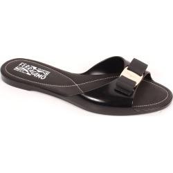 Women's Vara Bow Jelly Slide Sandals, Size 5 | Salvatore Ferragamo