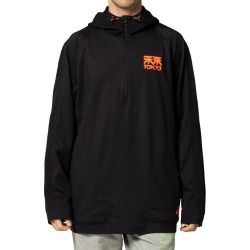 Men's Future Tokyo Thermopolis 1/2-Zip Hoodie, Black, Size Medium | Asics found on MODAPINS from Sporting Life for USD $86.36