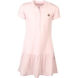 Junior's Girl's Pique Polo Dress, Light Pink, Size 10 | Moncler
