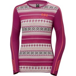 Women's Lifa Active Top, Fuchsia, Size XL | Helly Hansen found on MODAPINS from Sporting Life for USD $55.02