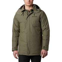 Men's Firwood Down Parka Jacket, Olive, Size XL | Columbia found on Bargain Bro from Sporting Life for USD $212.57