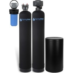 Water Filter and Salt Based Water Softener System - 4-6 Bathrooms